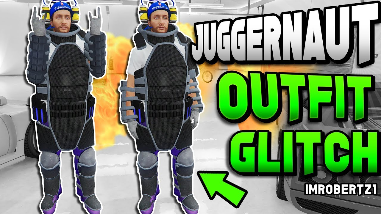 GTA 5 Modded Juggernaut Outfit Glitch! GTA 5 Online Clothing Glitches 1.40 (GTA 5 Glitches ...