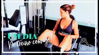 Gambar cover Um dia de treino comigo! | Meu treino