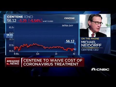 Coronavirus: Centene CEO On Waiving Cost Of Treatment