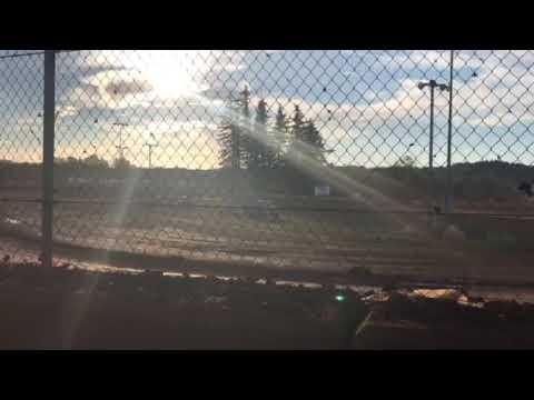 Sunset speedway pure stocks Heat race July 14, 2018