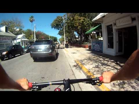 Key West on bike