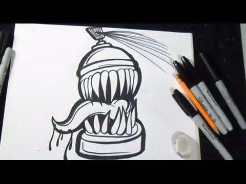 Wie Zu Zeichnen Spray Graffiti Youtube