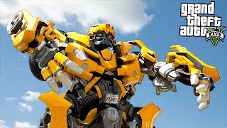 TRANSFORMERS BUMBLEBEE & OPTIMUS PRIME!! (GTA 5 Mods)(GTA 5 Mods Transformers Bumblebee & Optimus Prime VS Incredible Hulk Gameplay With GamingWithKev! Help me reach 1100000 subscribers! Click here to ..., 2017-01-25T20:07:20.000Z)