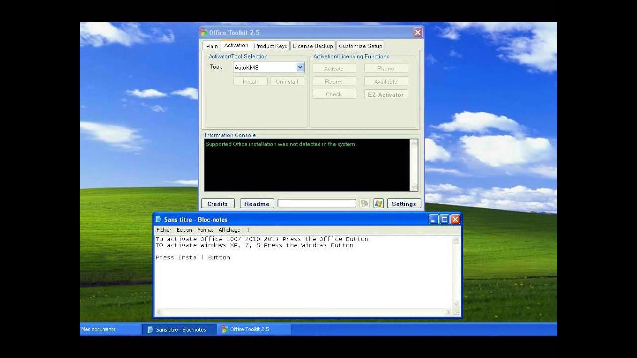 Tuto Activate Office Windows Microsoft Toolkit 2 5 Youtube