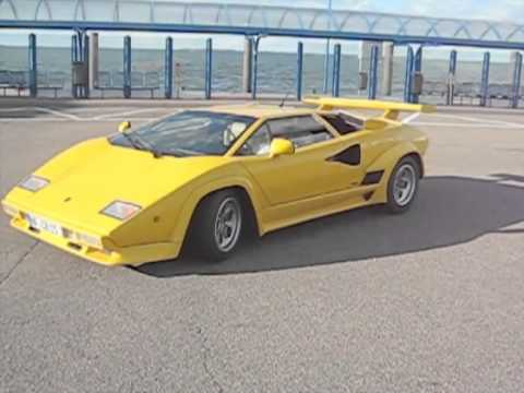 lamborghini countach replica strohm youtube. Black Bedroom Furniture Sets. Home Design Ideas