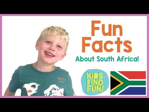 South Africa – Kids Share Fun Facts About South Africa! (Episode 3)