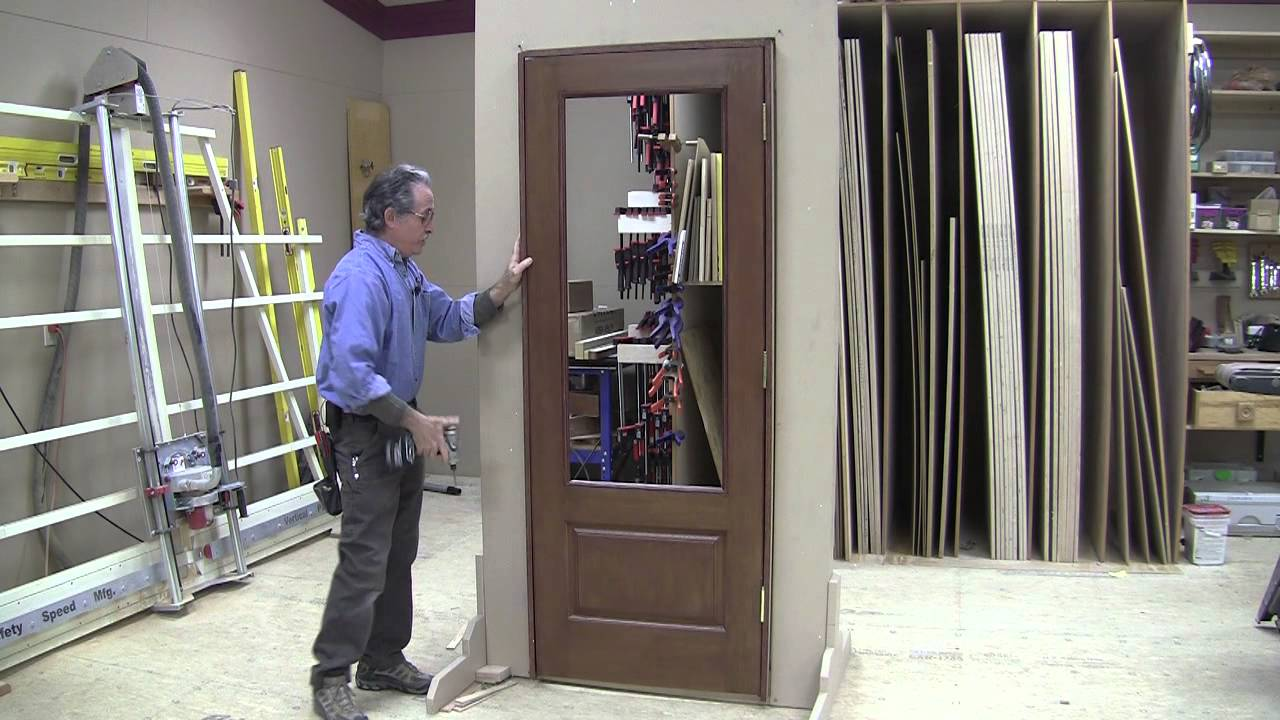 Installing problem free pre hung doors youtube - How to install a prehung exterior door ...