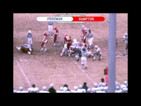 Freeman vs Hampton - 11/26/1977 - AAA State Semi-Final (color with radio commentary)