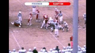 Freeman vs Hampton - 11/26/1977 - AAA State Semi-Final (color with radio commentary)
