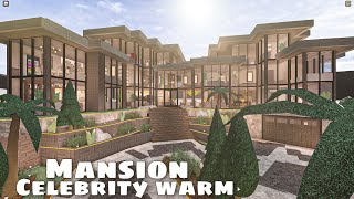 Bloxburg: Mansion warm celebrity house    housebuild