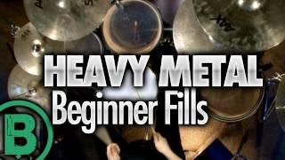 Heavy Metal Drumming - Beginner Drum Fills