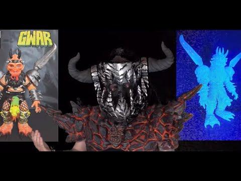 Late GWAR vocalist Oderus Urungus new 10″ vinyl figure now available!