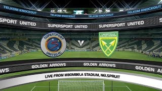 Telkom Knockout | QF | SuperSport United v Golden Arrows | Highlights