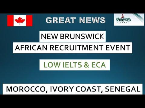 NewBrunswick Recruiting in Africa- Senegal, Cote D'ivoire and Morocco