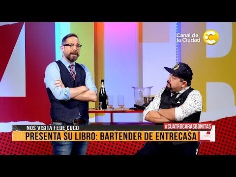 "<h3 class=""list-group-item-title"">&quot;Bartender de entrecasa&quot; nos visita Fede Cuco en Cuatro Caras Bonitas</h3>"