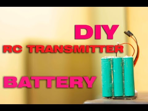DIY: super cheap 3s lithium battery pack for RC Transmitter