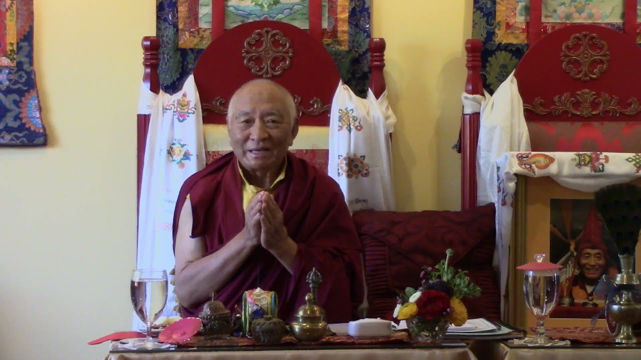 """Special Teachings on """"Heart Advice to the Fortunate Ones"""" on April 11, 2021"""