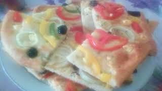 خبز الفوكاشيا 🍞🍞او فطيرة الفوكاشيا الايطالية بطريقة سهلة وبسيطة والنتيجة اكثر من رائعة👉👍