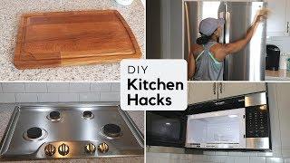 DIY Kitchen Cleaning Hacks