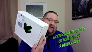 Noob Cube Unboxing - October '15 - 7 Deadly Sins