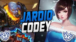 JARDIO BEST MEI AND FAKE CODEY? [ OVERWATCH SEASON 10 TOP 500 ]
