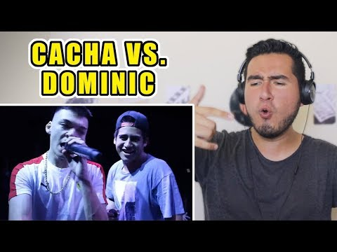 ¿LA MEJOR BATALLA DE RAP DE 2019? I Cacha vs Dominic (Ghetto Dreams League)
