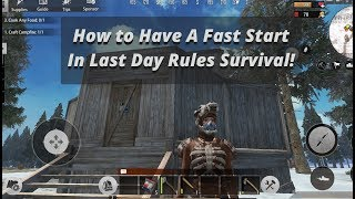 Tips N' Tricks for Beginners   Last Day Rules : Survival