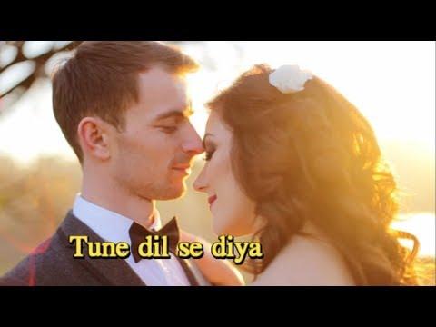 A Lovely status song | Na kuch poocha Na kuch manga Tune dil se diya jo diya