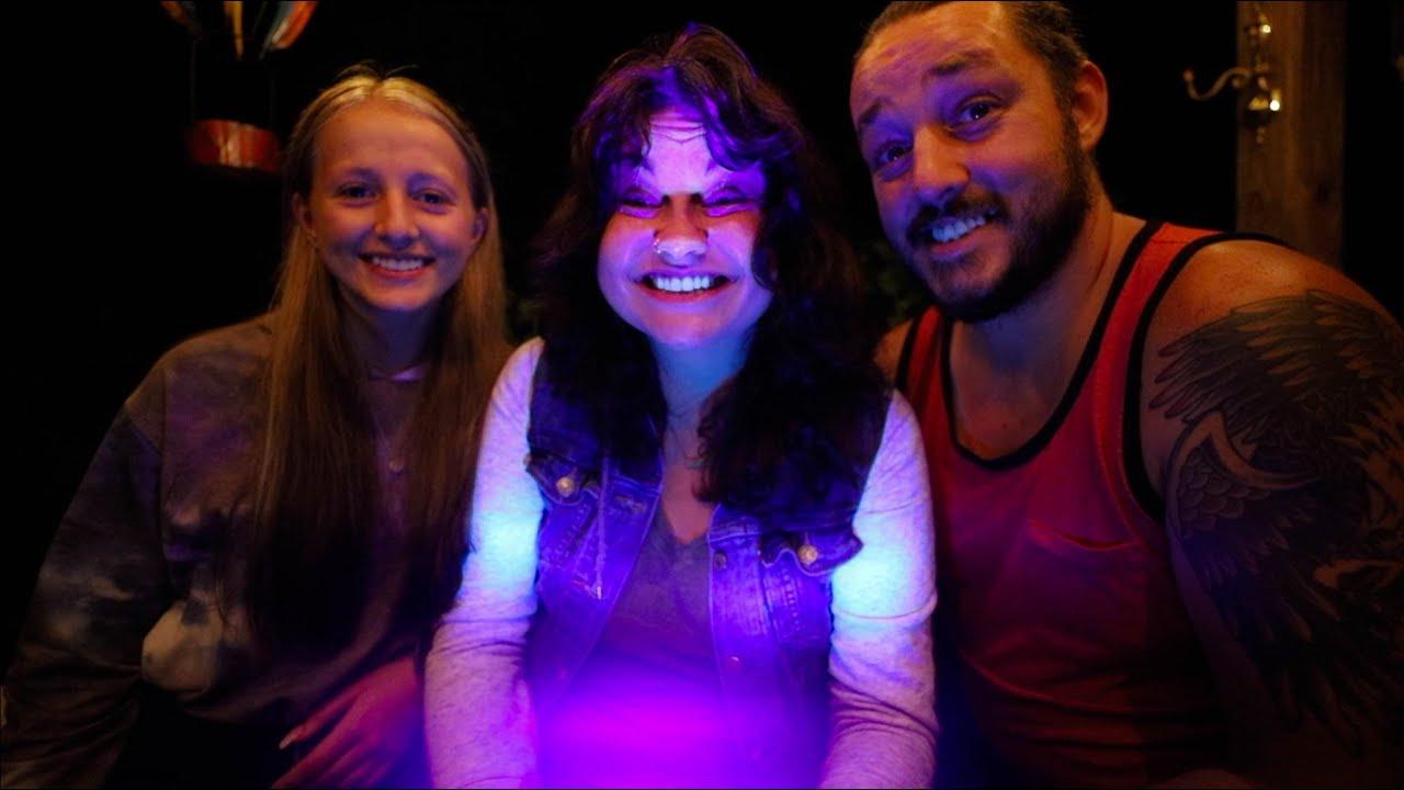 Hornworm Hunting with a Blacklight Flashlight   Organic Gardening
