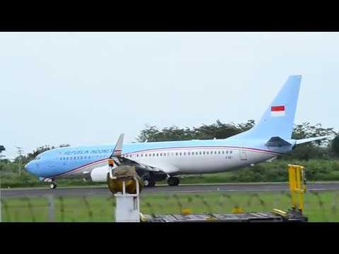 Pesawat Presiden Indonesia Take Off Bandara Ahmad Yani ...