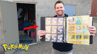 WE FOUND HIS 20 YEAR OLD POKEMON CARDS!