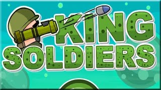 King Soldiers Game Walkthrough (All Levels)