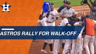 Springer and Gurriel RBI singles lead Astros to win