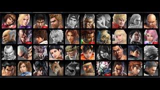 Tekken 6 : All characters intros