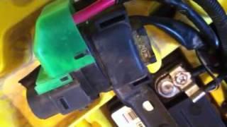 solonoid solenoid Starter Relay Suzuki LTZ400 2003-2004