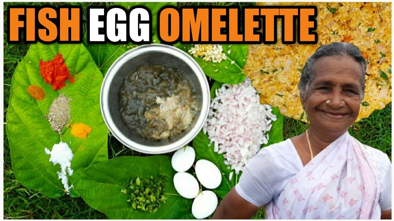 500gm Fish Egg Recipe | Fish Egg Omelette Recipie | Fish Egg Fry | One Roof