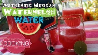 Watermelon Water Agua Fresca 4th Of July Recipes