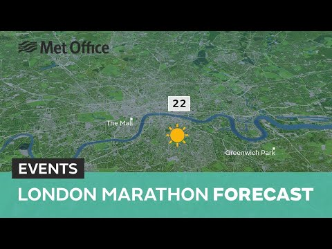 London Marathon forecast