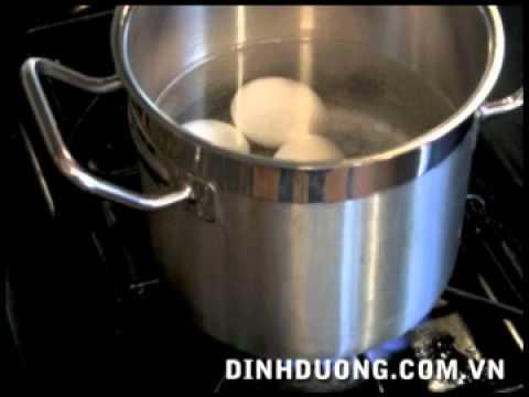 Cách luộc trứng tuyệt ngon