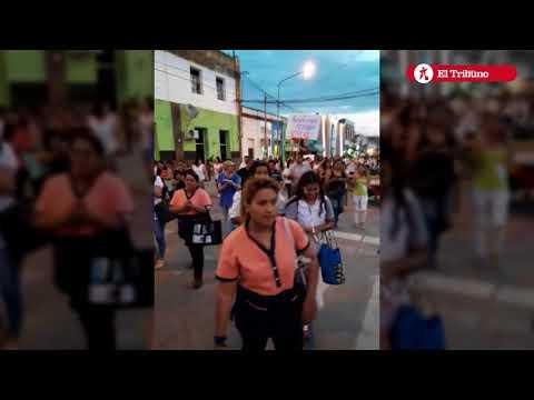 Marcha contra la reforma educativa Libertador