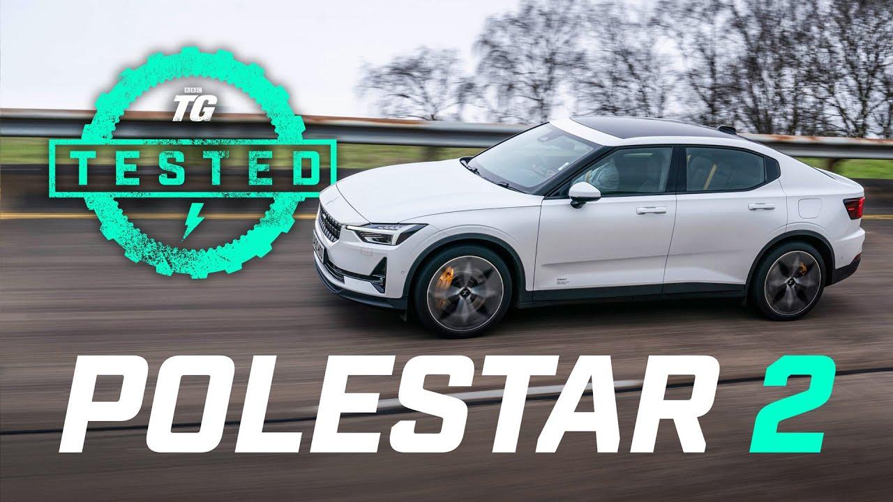 Polestar 2 Review: Tesla Model 3 rival 0-60, range, charging, top speed, 1/4 mile | Top Gear