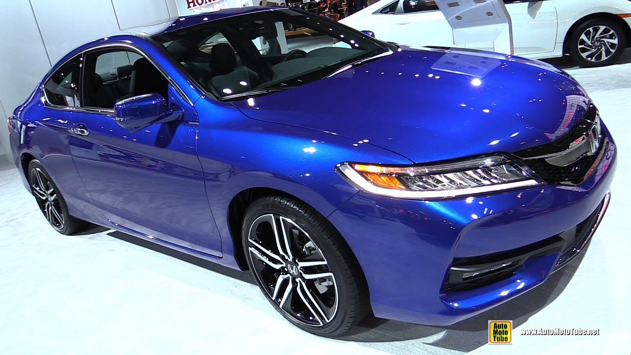 2016 honda accord coupe touring v6 exterior and interior walkaround 2016 new york auto show. Black Bedroom Furniture Sets. Home Design Ideas