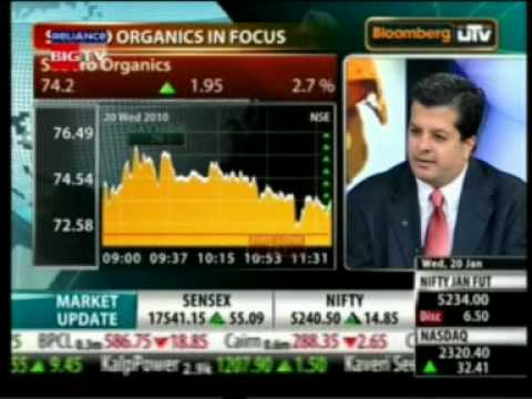 Mr. Sumit Chuganee Interview on Bloomberg UTV  Wednesday 20 Jan 2010.