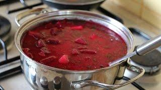 Pyszna zupa z buraków ze słoika szybki przepis
