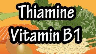 Vitamin B1 (thiamine) Medical biochemistry  - medical animation