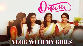 ONAM VLOG with my girls | shabana, chaithra and nakshathra | our first onam celebration 🥳