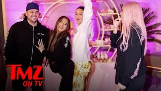 Rob Kardashian Makes Surprise Appearance At Khloe's Birthday | TMZ
