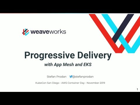 Progressive Delivery with AWS App Mesh & Amazon EKS - Flagger - Stefan Prodan
