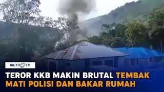 Teror KKB Papua di Kiwirok Makin Brutal