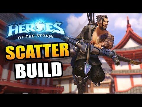 Hanzo!! Scatter Arrow actually the best?!  Heroes of the Storm